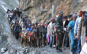 First batch of pilgrims leave for Amarnath shrine